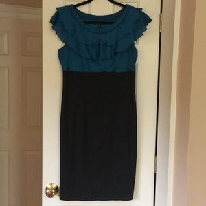 Alyx Ruffle Top Cocktail Dress